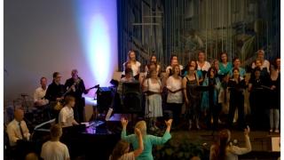 Gospelkuoro Loistoillassa 2013